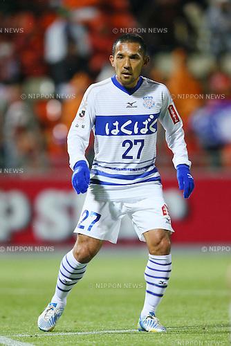 Teruyoshi Ito (Ventforet), .APRIL 10, 2013 - Football /Soccer : .2013 J.LEAGUE Yamazaki Nabisco Cup .between Omiya Ardija 1-3 Ventforet Kofu .at NACK5 Stadium Omiya, Saitama, Japan. .(Photo by YUTAKA/AFLO SPORT)