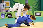 Yuki Hashimoto (JPN), .April 21, 2013 - Judo : .Asian Judo Championships 2013, Women's Team Competition Semifinal .at Bangkok Youth Centre, Bangkok, Thailand. .(Photo by Daiju Kitamura/AFLO SPORT) [1045]