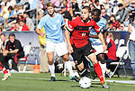14 November 2010: Maryland's Casey Townsend (11). The University of Maryland Terrapins defeated the University of North Carolina Tar Heels 1-0 at WakeMed Soccer Park in Cary, North Carolina in the ACC Men's Soccer Tournament Championship game.