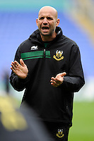 Jim Mallinder, Northampton Saints Director of Rugby,  before the Premiership Rugby match between London Irish and Northampton Saints at the Madejski Stadium on Saturday 4th October 2014 (Photo by Rob Munro)