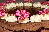 Torte im Caf&eacute; Liebes Bisschen, Spritzenplatz 5, Hamburg - Ottensen, Deutschland, Europa<br /> Cake in Caf&eacute; Liebes Bisschen, Spritzenplatz 5, Hamburg - Ottensen, Germany, Europe