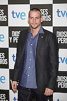 Alex Casademunt poses at `Dioses y perros´ film premiere photocall in Madrid, Spain. October 07, 2014. (ALTERPHOTOS/Victor Blanco) /nortephoto.com