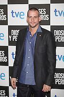 Alex Casademunt poses at `Dioses y perros´ film premiere photocall in Madrid, Spain. October 07, 2014. (ALTERPHOTOS/Victor Blanco) /nortephoto.com