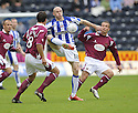 24/10/2009  Copyright  Pic : James Stewart.sct_jspa01_kilmarnock_st_johnstone  . :: CONOR SAMMON KEEPS THE BALL AWAY FROM GRAHAM GARTLAND AN CHRIS MILLAR :: .James Stewart Photography 19 Carronlea Drive, Falkirk. FK2 8DN      Vat Reg No. 607 6932 25.Telephone      : +44 (0)1324 570291 .Mobile              : +44 (0)7721 416997.E-mail  :  jim@jspa.co.uk.If you require further information then contact Jim Stewart on any of the numbers above.........