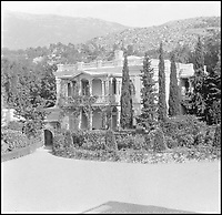 BNPS.co.uk (01202 558833)Pic: PrivateCollection/BNPS<br /> <br /> Ai-Todor, the Crimean home<br /> of Grand Duke Alexander Michaelovich and Grand Duchess Xenia.<br /> <br /> A Russian Grand Duke branded King George V a 'scoundrel' who 'did not lift a finger' to save the Romanov family in the revolution there of 1917, explosive diaries have revealed.<br /> <br /> The cousin of the overthrown Russian Royal family blamed the British King for their executions because he failed to grant them refuge.<br />  <br /> Dmitri Pavlovich no-holds-barred diary extracts have been published for the first time in a new book by respected historian Coryne Hall, To Free The Romanovs.
