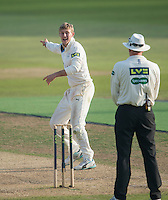 Picture by Allan McKenzie/SWpix.com - 11/09/2014 - Cricket - LV County Championship Div One - Nottinghamshire County Cricket Club v Yorkshire County Cricket Club - Trent Bridge, West Bridgford, England County Cricket Club - Joe Root appeals for a wicket.