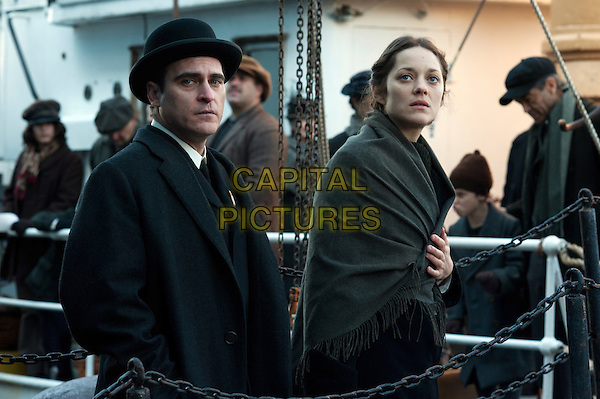 Joaquin Phoenix, Marion Cotillard<br /> in The Immigrant (2013) <br /> *Filmstill - Editorial Use Only*<br /> CAP/FB<br /> Image supplied by Capital Pictures