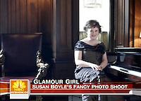 05/08/09 Susan Boyle in Harper's Bazaar