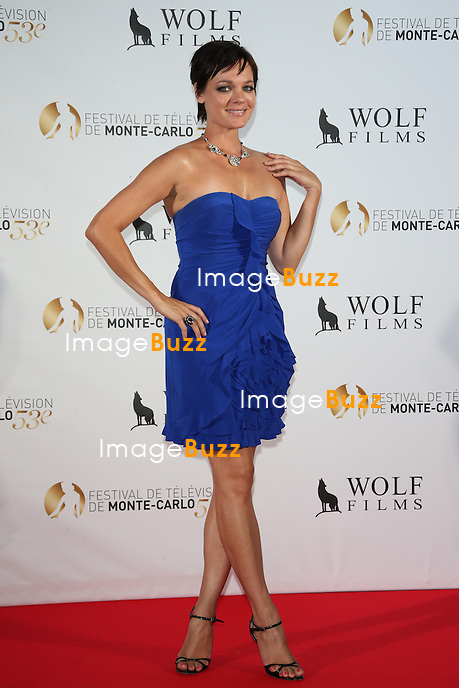 CPE/Crystal Allen attends Dick Wolf Party Red Carpet party, at Monte-Carlo Bay Resort Hotel on June 11, 2013 in Monte-Carlo, Monaco.