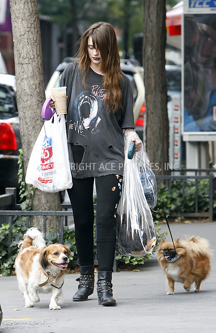 WWW.ACEPIXS.COM . . . . .  ....September 24 2009, New York City....Actress Mischa Barton sports a new 'Bag Lady Chic' look as she walks with her dogs through Soho on September 24 2009 in New York City....Please byline: NANCY RIVERA- ACE PICTURES.... *** ***..Ace Pictures, Inc:  ..tel: (212) 243 8787 or (646) 769 0430..e-mail: info@acepixs.com..web: http://www.acepixs.com