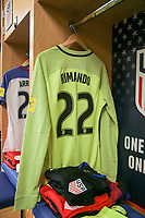 Harrison, N.J. - Friday September 01, 2017: Nick Rimando during a 2017 FIFA World Cup Qualifying (WCQ) round match between the men's national teams of the United States (USA) and Costa Rica (CRC) at Red Bull Arena.