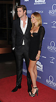 CENTURY CITY, CA - JUNE 27: Liam Hemsworth and Miley Cyrus arrive at the 8th Annual Australians In Film Breakthrough Awards & Benefit Dinner at InterContinental Hotel on June 27, 2012 in Century City, California.