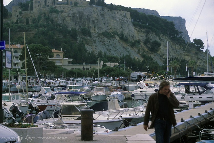Cassis, France, located on the Mediterranean Sea