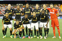 AS Monaco FC's team photo during Champions League 2015/2016 Play-Offs 1st leg match. August  19,2015. (ALTERPHOTOS/Acero)