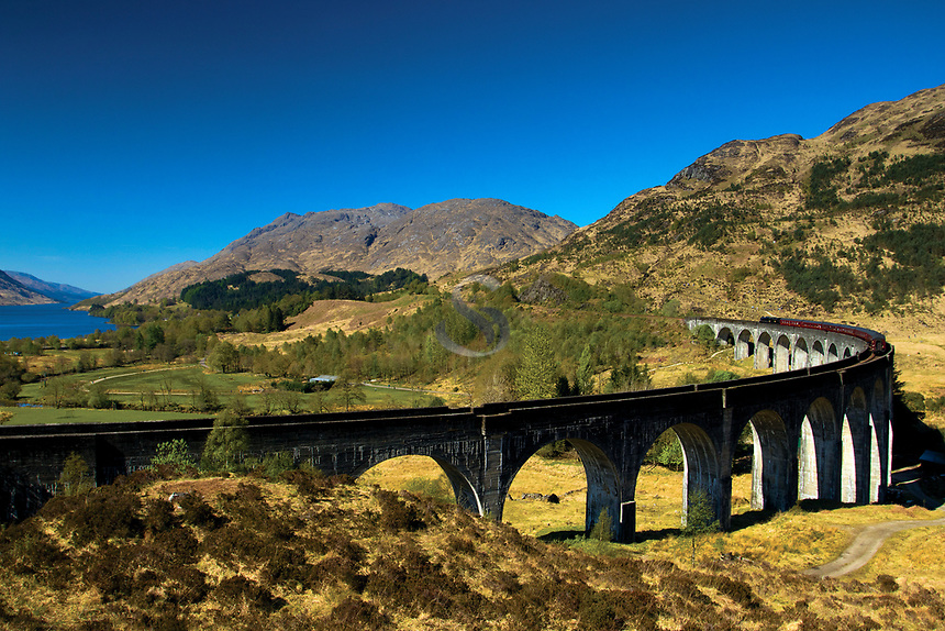 The Glenfinnan Viaduct, Glenfinnan, Lochaber