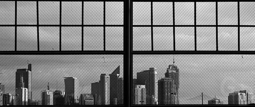 View towards Makati, Manila Philippines