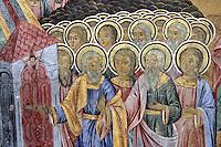 BG41193.JPG BULGARIA, RILA MONASTERY, CHURCH OF NATIVITY, frescoes