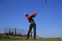 Cameron Long during Round Two of the West of England Championship 2016, at Royal North Devon Golf Club, Westward Ho!, Devon  23/04/2016. Picture: Golffile | David Lloyd<br /> <br /> All photos usage must carry mandatory copyright credit (&copy; Golffile | David Lloyd)