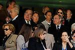 Real Madrid´s president Florentino Perez during 2014-15 La Liga match between Real Madrid and Granada at Santiago Bernabeu stadium in Madrid, Spain. April 05, 2015. (ALTERPHOTOS/Luis Fernandez)