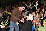 "Don Diamont came down to see fan Susan Putnam who has watched ""her stories"" from the beginning at the Soapstar Spectacular starring actors from OLTL, Y&R, B&B and ex ATWT & GL on November 20, 2010 at the Myrtle Beach Convention Center, Myrtle Beach, South Carolina. (Photo by Sue Coflin/Max Photos)"