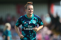 Katrine Veje of Arsenal during Arsenal Women vs Tottenham Hotspur Women, Friendly Match Football at Meadow Park on 25th August 2019