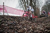 Wout Van Aert (BEL/Crelan-Vastgoedservice) vs Mathieu Van der Poel (NED/Beobank-Corendon)<br /> <br /> 2016 CX UCI World Cup Zeven (DEU)