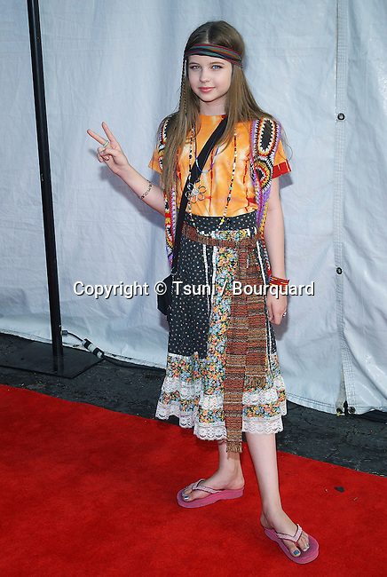 "Daveigh Chase arriving at "" Dream Halloween 2003, Ribbon of Dreams "" at the Barker Hangar in Santa Monica, Los Angeles. october 25, 2003."