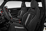 Front seat view of2015 MINI Mini John Cooper Works 3 Door Hatchback Front Seat car photos