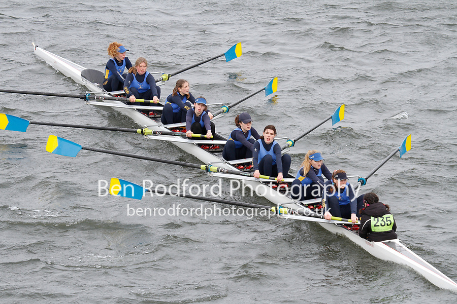 Crew: 235  St Edwards Sch  Event: Girls J16 CHAMP eights<br /> <br /> Schools' Head of the River 2017<br /> <br /> To purchase this photo, or to see pricing information for Prints and Downloads, click the blue 'Add to Cart' button at the top-right of the page.