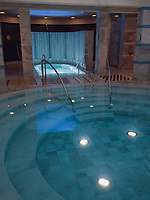 Therme Bogn Engiadina,  Scuol, Unterengadin, Graub&uuml;nden, Schweiz, Europa<br /> Thermal bath Therme Bogn, Scuol, Scuol Valley, Engadine, Grisons, Switzerland