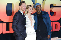 Tom Hiddlestone, Brie Larson and Samuel L Jackson<br /> arrives for the &quot;Kong: Skull Island&quot; premiere, Empire Leicester Square, London.<br /> <br /> <br /> &copy;Ash Knotek  D3235  28/02/2017