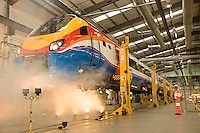The opening of the new £22 Million Train Maintenance depot at Etches Park, Derby