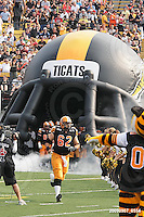 September 7, 2009; Hamilton, ON, CAN; Hamilton Tiger-Cats offensive lineman Marwan Hage (62). CFL football - the Labour Day Classic - Toronto Argonauts vs. Hamilton Tiger-Cats at Ivor Wynne Stadium. The Tiger-Cats defeated the Argos 34-15. Mandatory Credit: Ron Scheffler.