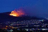 2019 05 15 Fire in Kilvey Hill, Swansea, Wales, UK