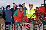 PLOUGH: Looking over the ploughing competition in Ballyheigue on Sunday l-r: William casey, John Casey, Christopher Barrett, Micheal Casey and Thomas O'Carroll (Causeway)................