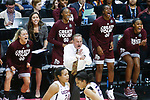 DALLAS, TX - MARCH 31: Members of the Mississippi State Lady Bulldogs react during the 2017 Women's Final Four at American Airlines Center on March 31, 2017 in Dallas, Texas. (Photo by Tim Nwachukwu/NCAA Photos via Getty Images)