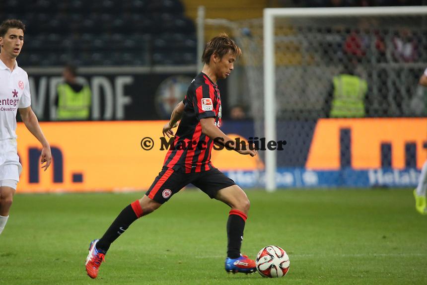 Takashi Inui (Eintracht) - Eintracht Frankfurt vs. 1. FSV Mainz 05, Commerzbank Arena