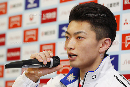 Kohei Kameyama,<br /> May 8, 2014 - Artistic Gymnastics : <br /> The 68th All Japan Gymnastics Championship <br /> Men's Individual All-Around <br /> at 1st Yoyogi Gymnasium, Tokyo, Japan. <br /> (Photo by AFLO SPORT)