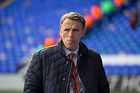 NBC television pundit Phil Neville ahead of the Premier League match between Tottenham Hotspur and Bournemouth at White Hart Lane, London, England on 15 April 2017. Photo by Mark  Hawkins / PRiME Media Images.