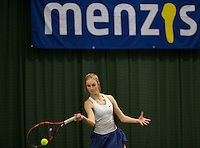 Rotterdam, The Netherlands, March 19, 2016,  TV Victoria, NOJK 14/18 years, Charlize Bernardus (NED)<br /> Photo: Tennisimages/Henk Koster