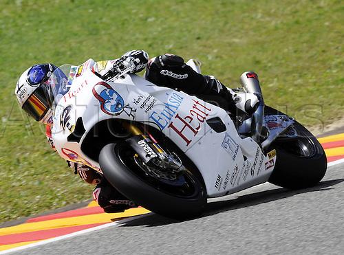 06 06 2010 Thomas Luethi SUI Moriwaki. Moto2 class, 600cc spec Honda eninges in prototype chassis. Gran Premio d'Italia TIM, Mugello circuit, Italy.