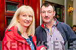 Benefit Dance : Attending the benefit dance for Robert Barry at the Listowel Arms Hotel on Saturady night last were Josephine Cronin & Johnny Ryan.