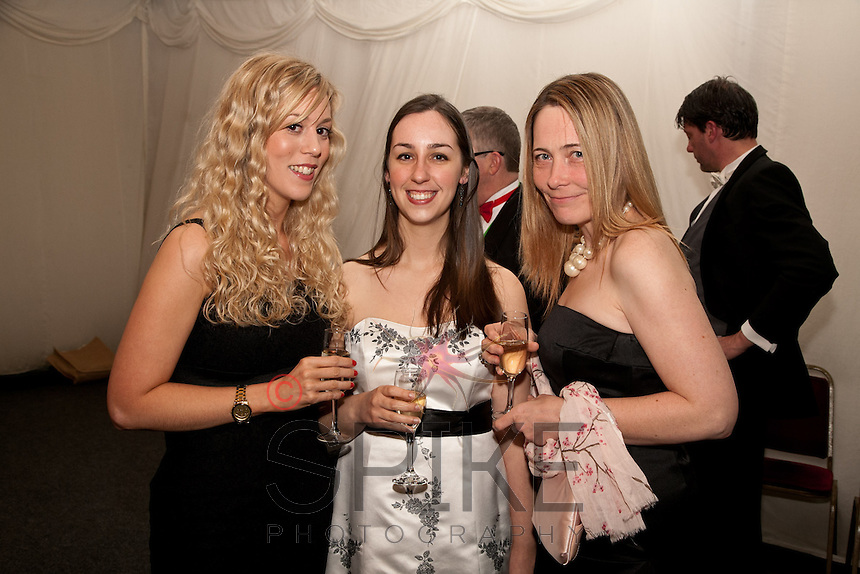 From left, Rebecca Williams, Chloe Griggs and Colleen Webb of of Bhatia Best