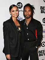 LOS ANGELES, CA - NOVEMBER 8: Nazanin Mandi, Miguel, at the Eva Longoria Foundation Dinner Gala honoring Zoe Saldana and Gina Rodriguez at The Four Seasons Beverly Hills in Los Angeles, California on November 8, 2018. Credit: Faye Sadou/MediaPunch