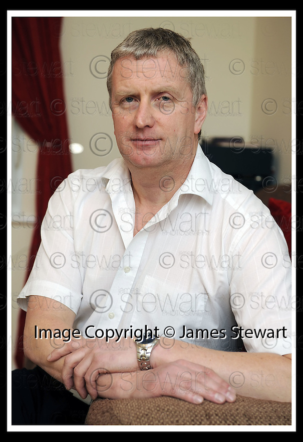 08/01/2009  Copyright Pic: James Stewart.File Name : sct_jspa01_robert_stevenson.INTEREST RATE CASE STUDY.ROBERT STEVENSON, 12 HOGAN PLACE, BONNYBRIDGE......James Stewart Photo Agency 19 Carronlea Drive, Falkirk. FK2 8DN      Vat Reg No. 607 6932 25.Studio      : +44 (0)1324 611191 .Mobile      : +44 (0)7721 416997.E-mail  :  jim@jspa.co.uk.If you require further information then contact Jim Stewart on any of the numbers above.........