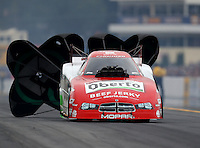 Oct 2, 2016; Mohnton, PA, USA; NHRA funny car driver John Hale during the Dodge Nationals at Maple Grove Raceway. Mandatory Credit: Mark J. Rebilas-USA TODAY Sports
