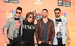 LOS ANGELES, CA- MAY 01: Recording artists Bastille attend the 2014 iHeartRadio Music Awards held at The Shrine Auditorium on May 1, 2014 in Los Angeles, California.