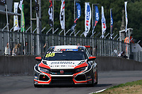 #88 Ashley SUTTON (GBR) Verizon Connect Racing Honda Civic Type-R TCR during TCR UK Championship Race One as part of the BRSCC TCR UK Race Day Oulton Park  at Oulton Park, Little Budworth, Cheshire, United Kingdom. August 04 2018. World Copyright Peter Taylor/PSP. Copy of publication required for printed pictures.