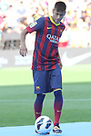 03.06.2013 Barcelona, SPain. Neymar presentation as new Barcelona Player at Camp Nou