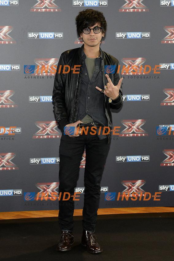 Db Milano 26/10/2016 - photocall trasmissione Tv 'X-Factor' / foto Daniele Buffa/Image/Insidefoto <br /> nella foto: Diego Conti